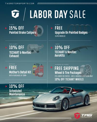 THE TAG LABOR DAY 2020 SALE!