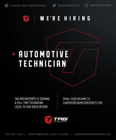 WE ARE HIRING! CALLING ALL AUTOMOTIVE TECHNICIANS