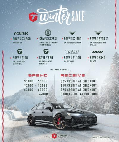 2020 TAG WINTER SALE!! FIND ALL THE DEALS IN HERE!