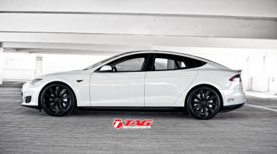 "2013 Tesla Model S ""TAG Blackout Package"""