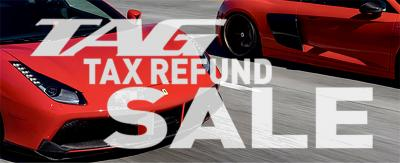 TAG Tax Refund Sale - Click Here For Details