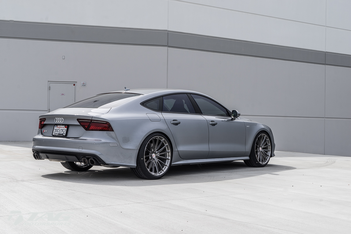 Drool-worthy S7 // HRE P103 // Akrapovic Exhaust, and more!