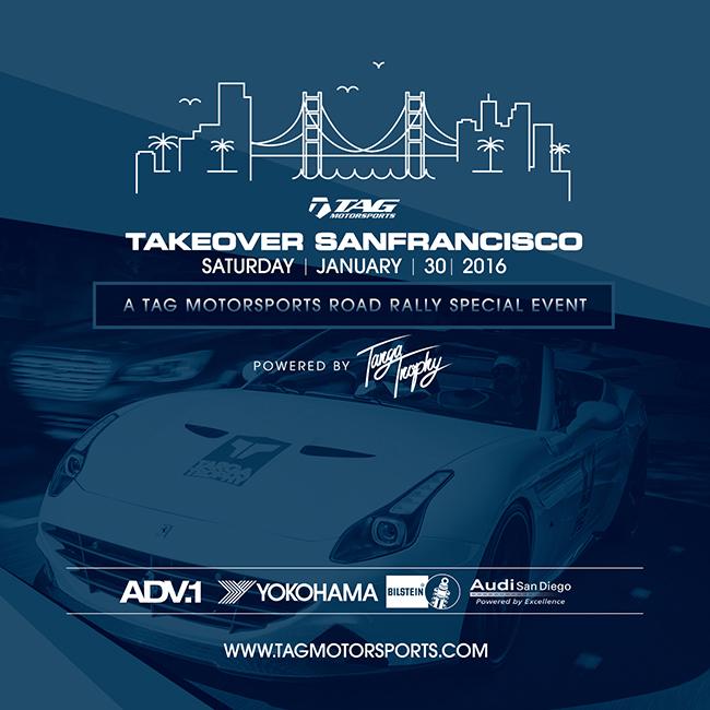 TAG Motorsports | Targa Trophy - TAKEOVER SF