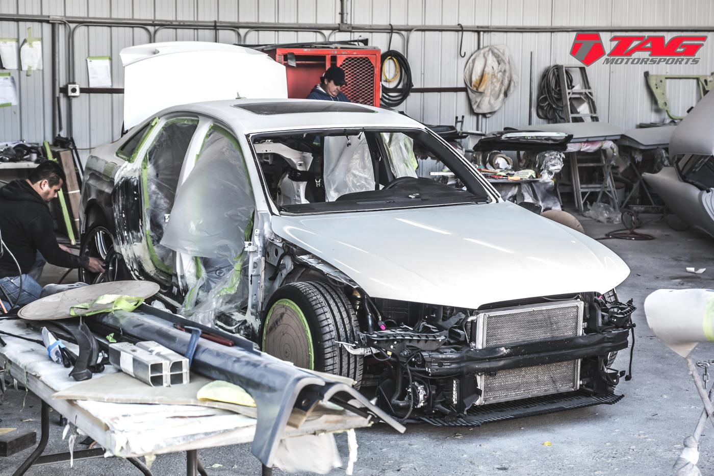 The RS4 Build Continues!