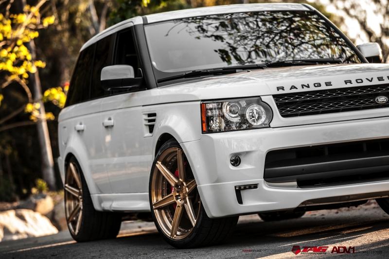 """2013 Range Rover on 22"""" ADV6SLMV.2"""