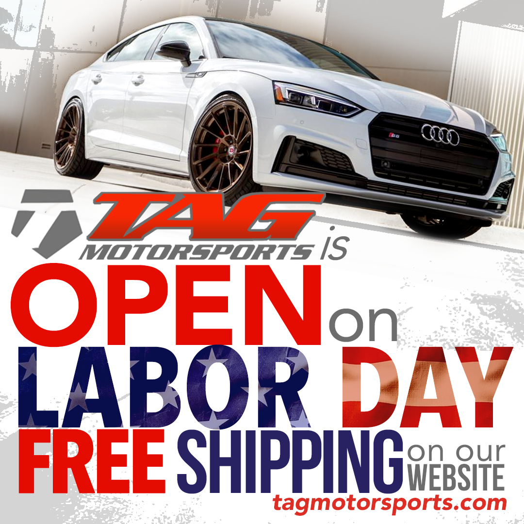 TAG Motorsports Labor Day Sale!!