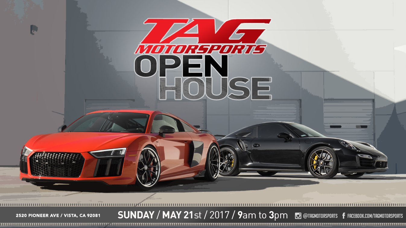 TAG Open House Is Coming!!!!