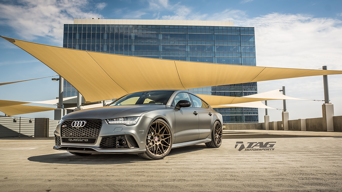 Out with the old, In with the new-2016 Matte Daytona RS7