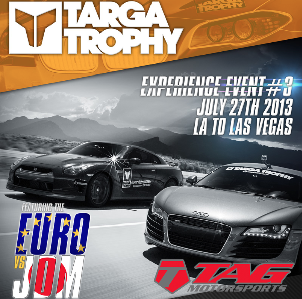 Targa Trophy LA to Vegas! July 27th