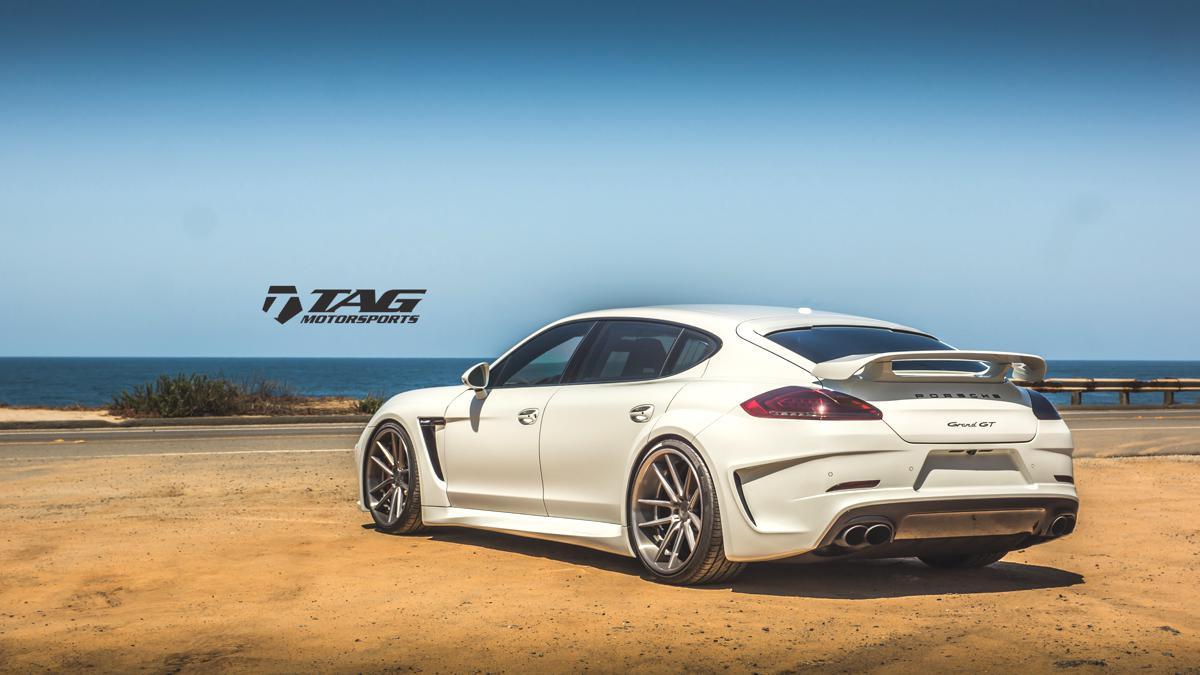Porsche Panamera Techart GrandGT x ADV Build!