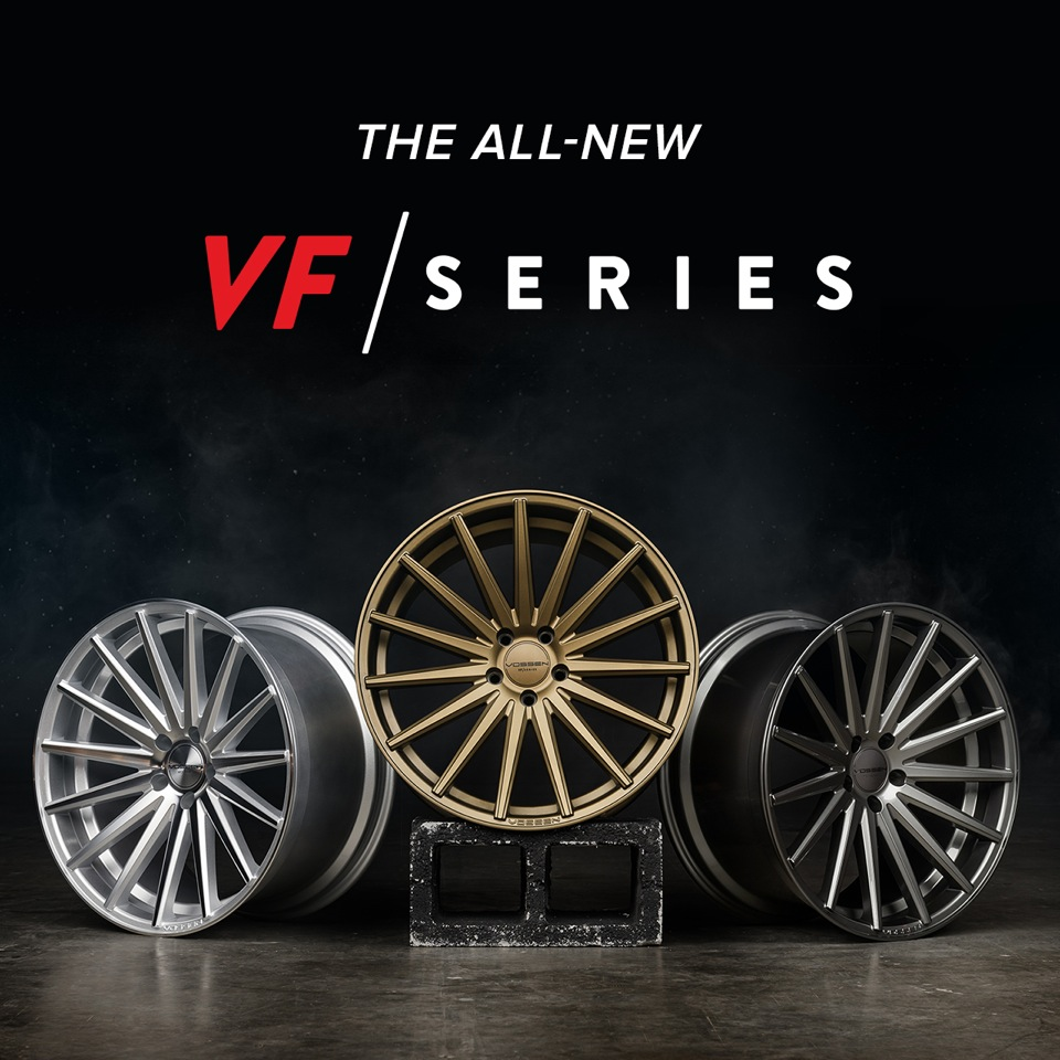 Vossen VF Series Wheels are HERE